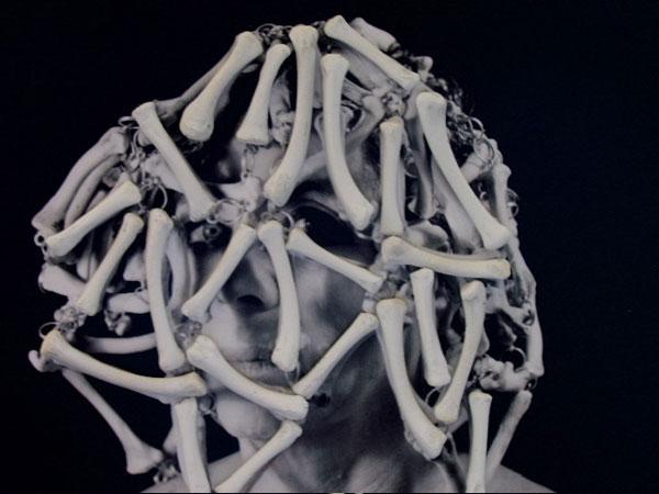 Portrait of a Woman in a Bone Headdress