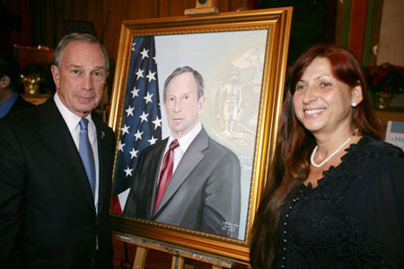 Bloomberg's Official Portrait