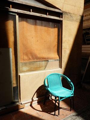 Blue Chair St. Tropez