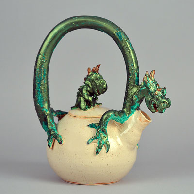 Dragon and Child Teapot