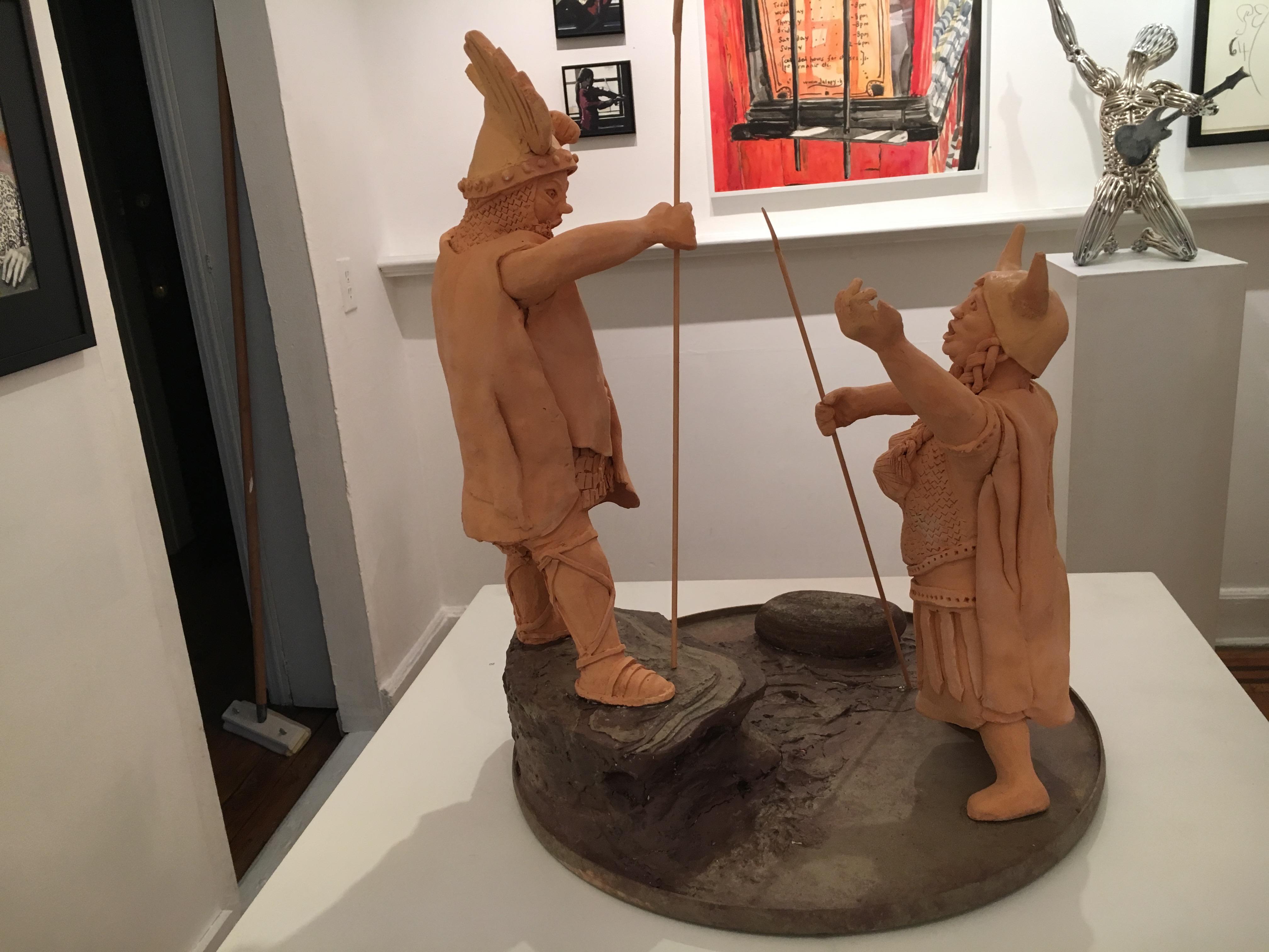 Wotan and Brunnhilde