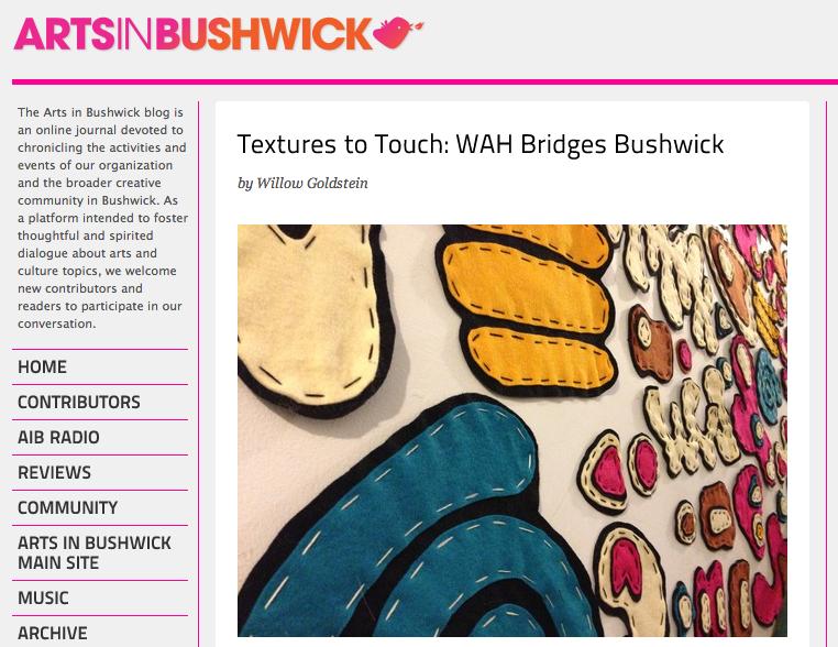 Arts in Bushwick's blog.