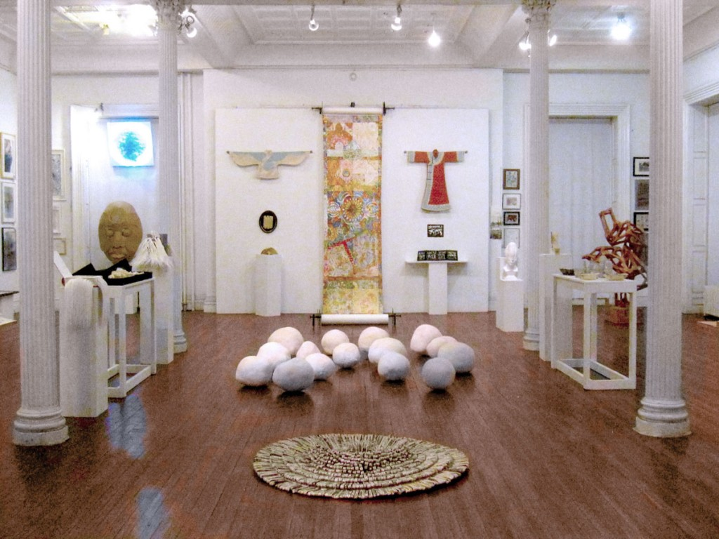 WAH Center — Paperworks exhibition main room