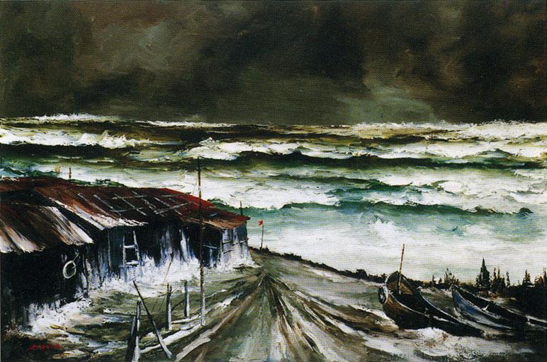 Mototaka Takano Painting Northern Snow Scenes for 35 Years