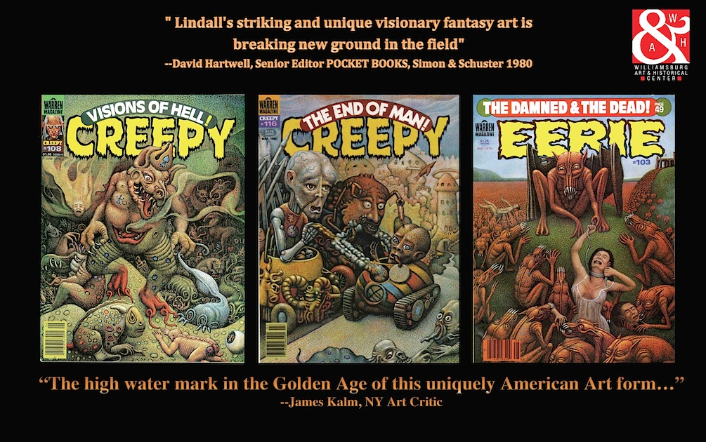 Terry Lindall classic comic covers
