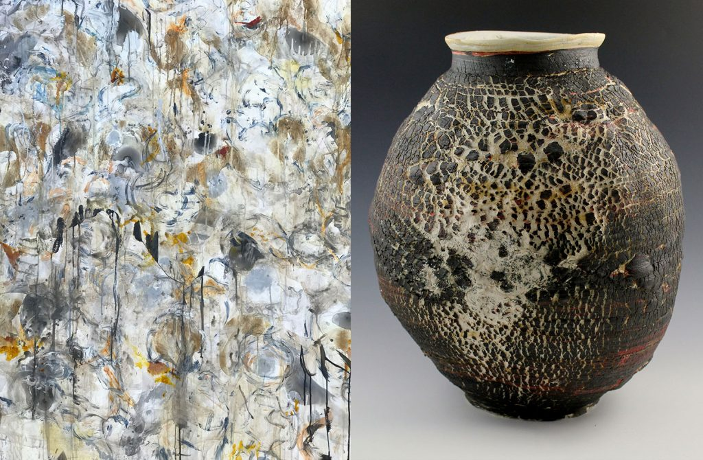 Origins: Paintings by Annette Turow Ceramics by Gabe Turow  A Visual Dialogue Between Mother & Son