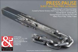 press pause - SUNY new paltz mfa show