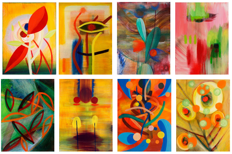Garden of Color - paintings by Orin Buck